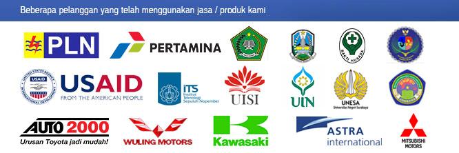 Beberapa pelanggan cetak brosur di www.brosurkilat.com