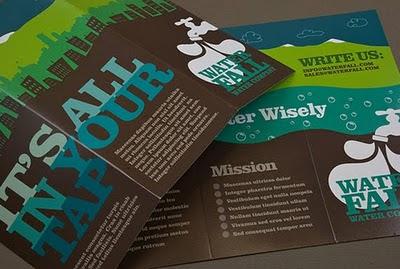 Inspirasi cetak brosur & desain brosur
