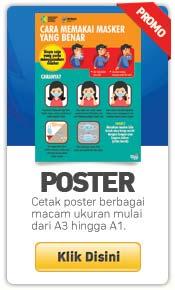 cetak poster murah