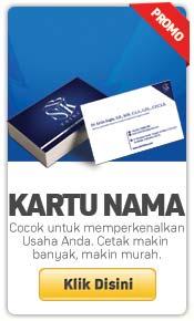 cetak kartu nama murah