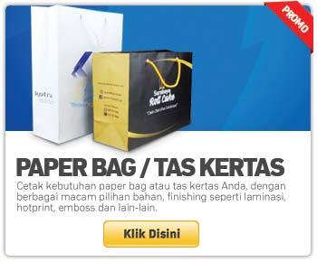 cetak paper bag tas kertas murah