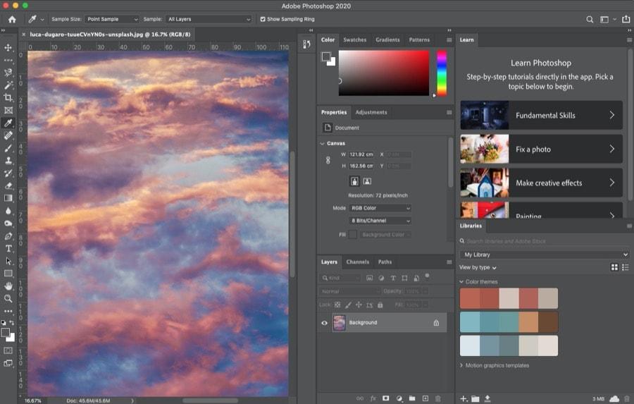 Photoshop software desain